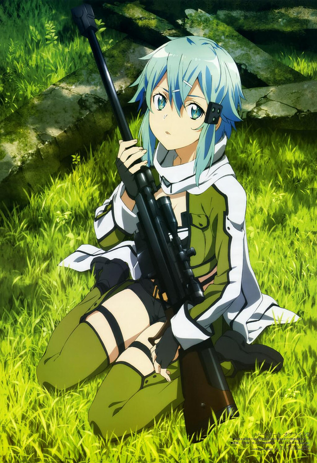 Sinon Snipping Ad for Sword Art Online 2 5d4ac46a3c4398e7c922fb4428bb70b61402586303_full