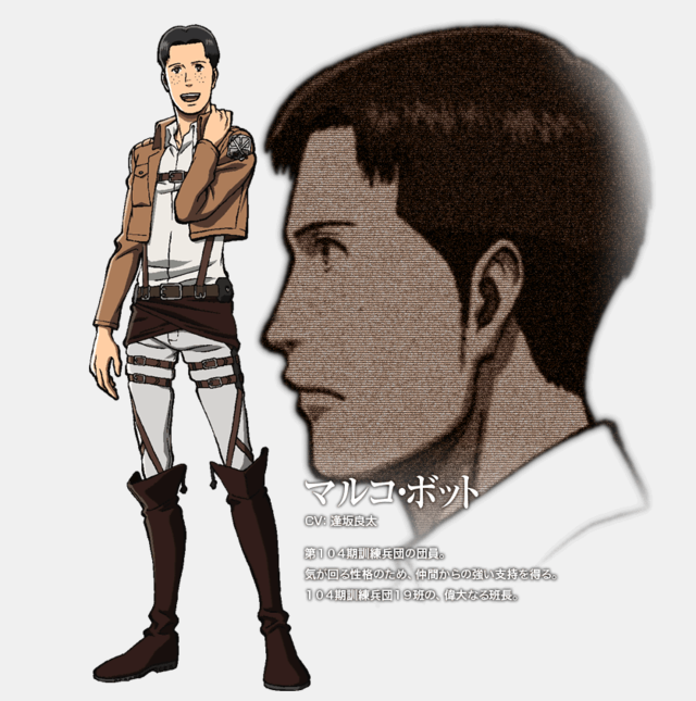 Crunchyroll full look at attack on titan character designs for Design attack