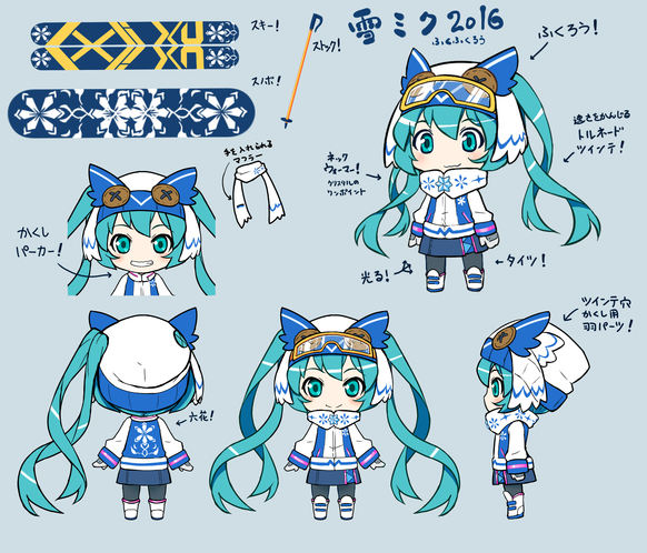 Character Design Competition 2018 : Crunchyroll winner of the quot snow miku contest announced