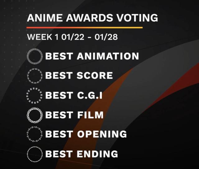 anime awards week 1