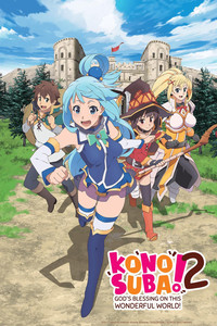 KONOSUBA -God's blessing on this wonderful world! 2 is a featured show.
