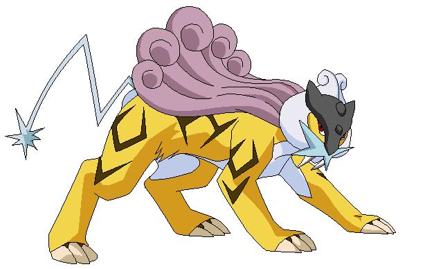 legendary electric pokemon - photo #1