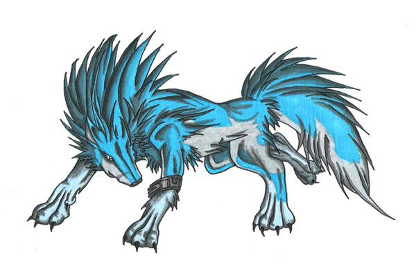 Water Element Wolves  ...