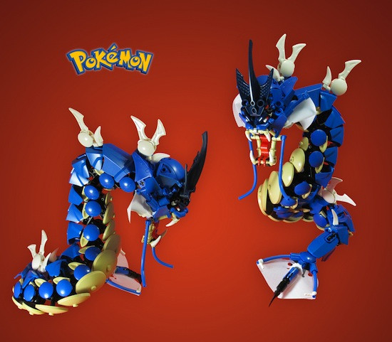 Crunchyroll Try And Catch These Amazing Fan Made Lego Pokémon