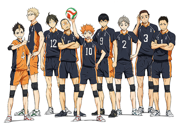 "Crunchyroll - 2nd Key Visual for ""Haikyu!!"" TV Anime Revealed"