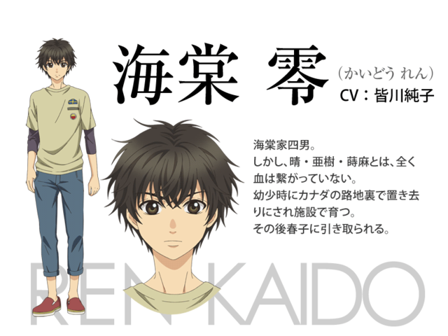 Anime Characters Named Ren : Crunchyroll to stream quot super lovers anime