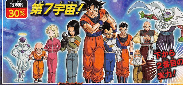 Dragon Ball Super Universe Survival Arc Visual Featured The Familiar Line Up Well Theres A New August Issue Of V Jump And It Evaluates Chances