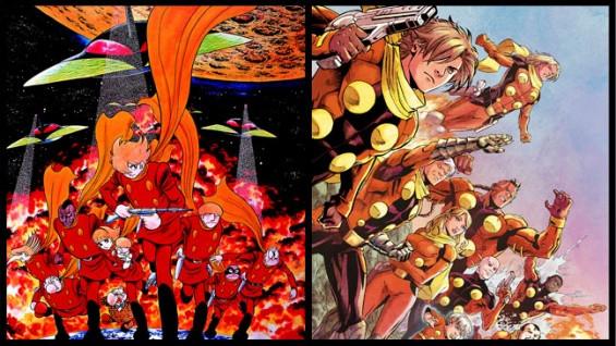 Cyborg 009 comparison