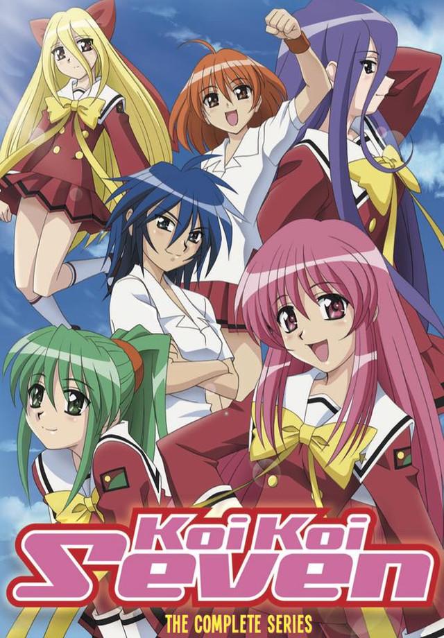 Crunchyroll discotek licenses quot koi koi seven quot and quot gokudo quot anime