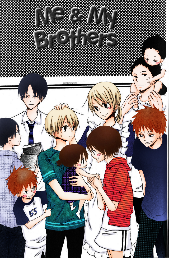 Crunchyroll - Me and My Brothers manga