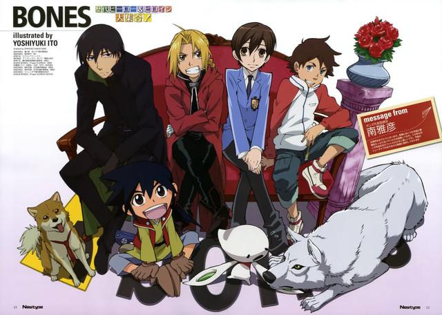 BONES (Studio) | page 3 of 28 - Zerochan Anime Image Board