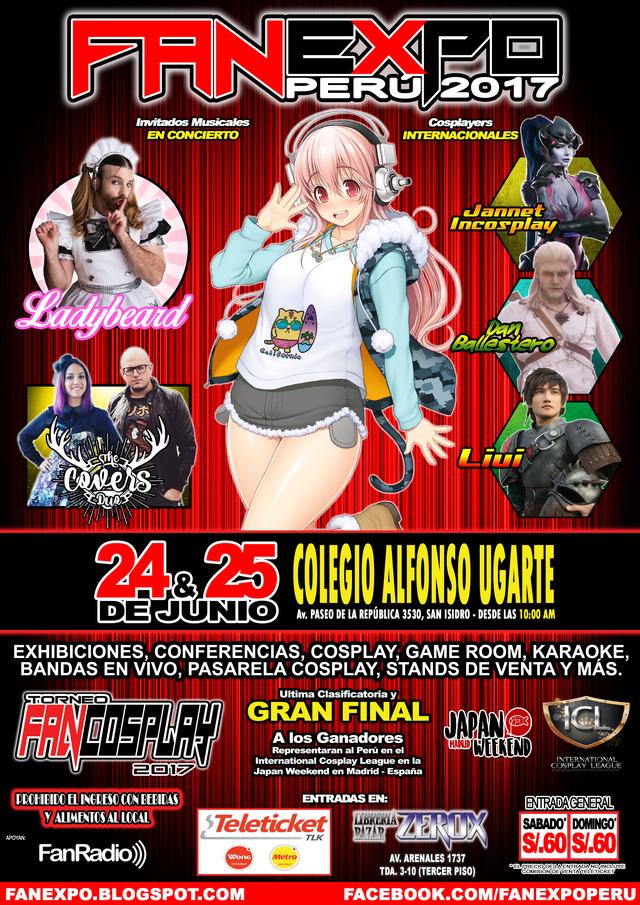 Crunchyroll -  Perú  No te pierdas la cuarta edición de Fan Expo Perú 0680503fbcb3