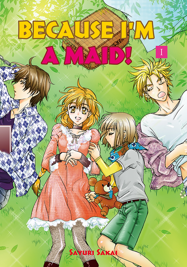 Because I'm A Maid Vol 1 cover