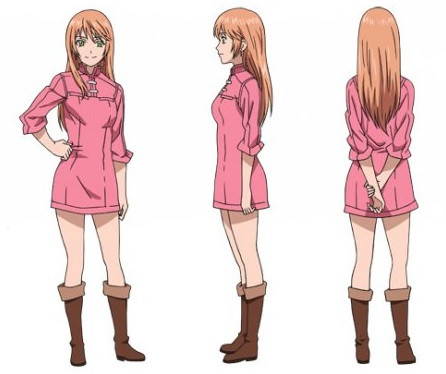 Anime Magazine Staff And Character Designs For Quot Soredemo