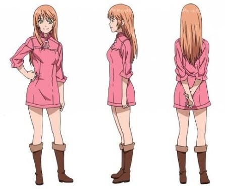 Anime Magazine Staff And Character Designs For Soredemo
