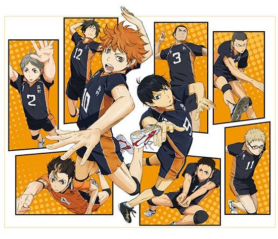 """2nd Key Visual For """"Haikyu!!"""" TV Anime Revealed"""