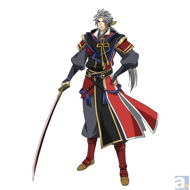 Anime Characters Katana : Crunchyroll quot samurai warriors anime planned for