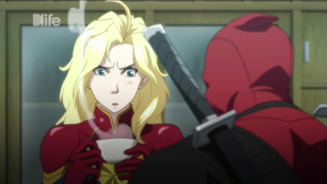 captain marvel anime