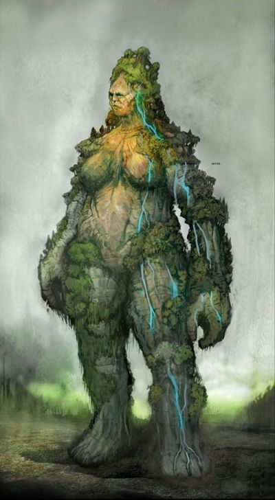 THE EVER PRESENT MOTHER OF EARTH. THE TITAN GAIA