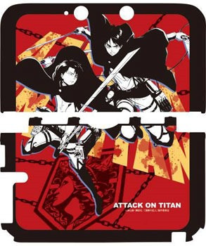 Attack On Titan cases for your 3DS C68147ea8870220546d78538dafe1bd81399909767_full