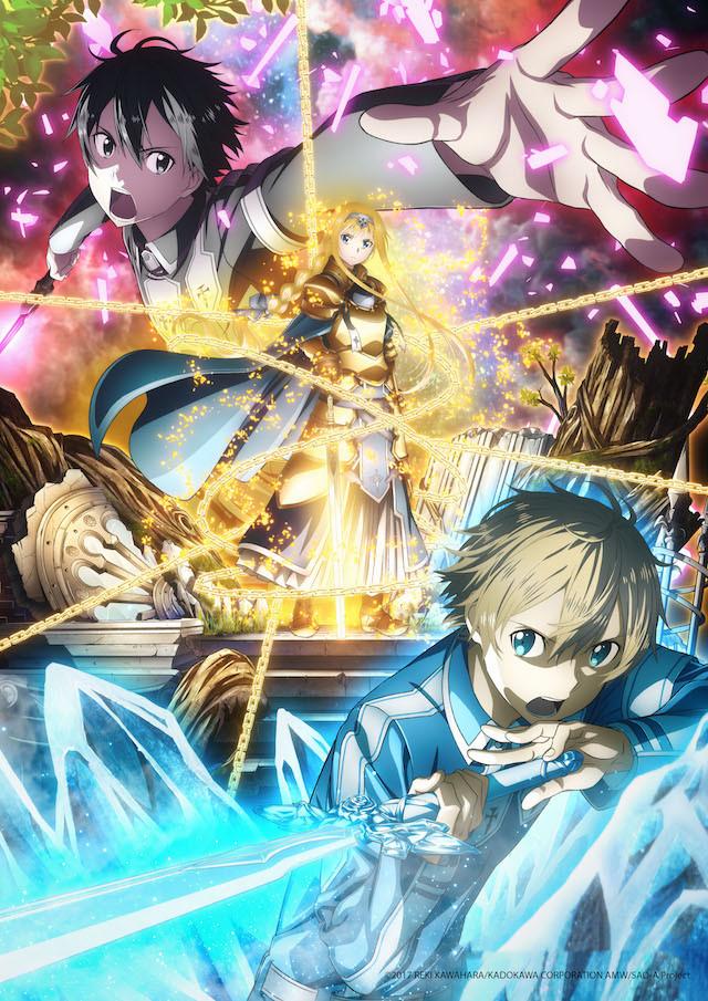 Sword Art Online Alicization key visual