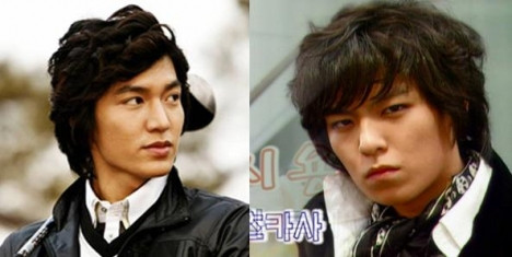 lee min ho & top