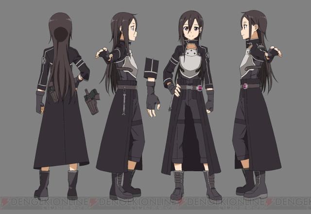 """Character JAPAN - VIDEO: """"Sword Art Online II"""" Character ..."""