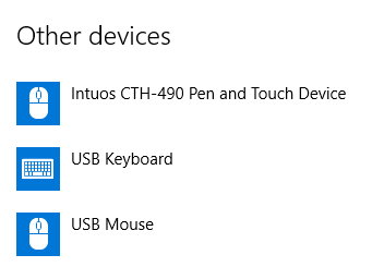 Tablet Driver Not Found Windows 10