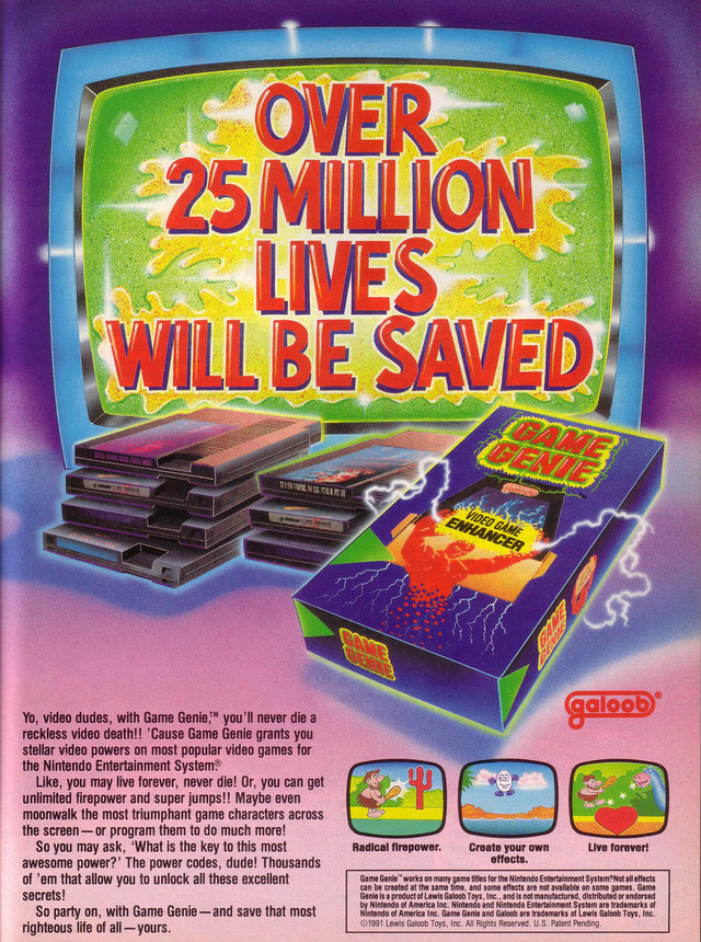 how to use game genie nes