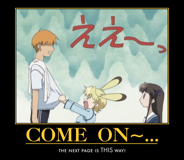 Crunchyroll - Forum - Anime Motivational Posters (READ ...