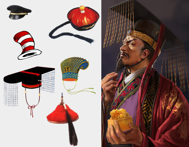 chinese emperor hat -#main