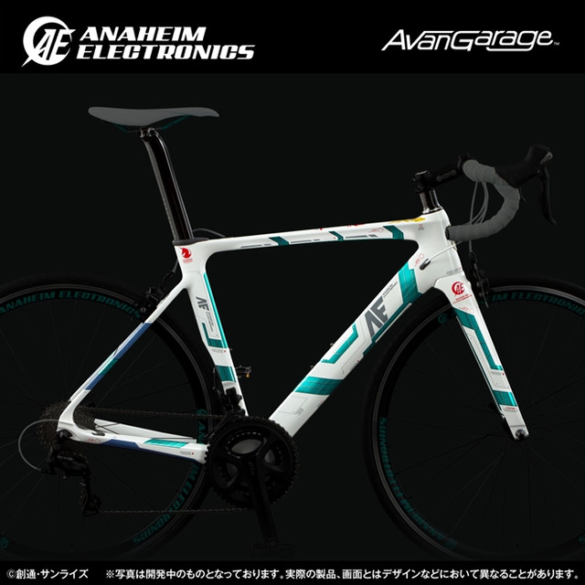 Crunchyroll Bandai Offers More Road Bikes Inspired By
