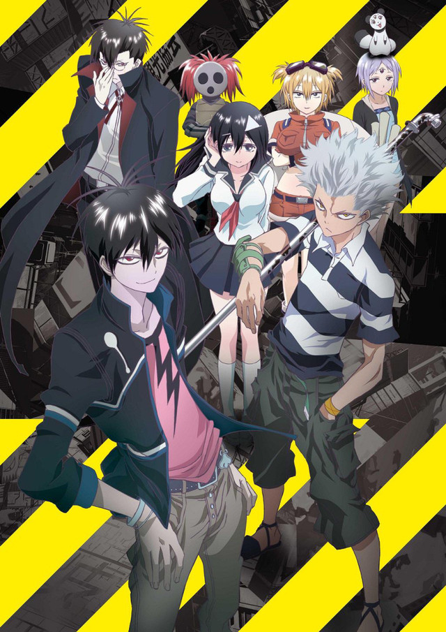Crunchyroll additional quot blood lad quot anime character designs showcased