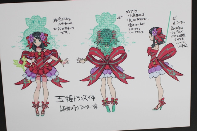 Character Design Exhibition : Crunchyroll feature quot luck logic exhibition at tokyo