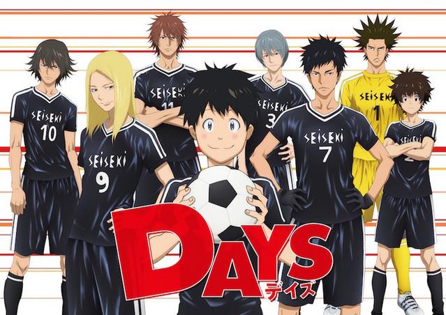 Crunchyroll Fussball Manga Days Wird Von Mappa Als Anime