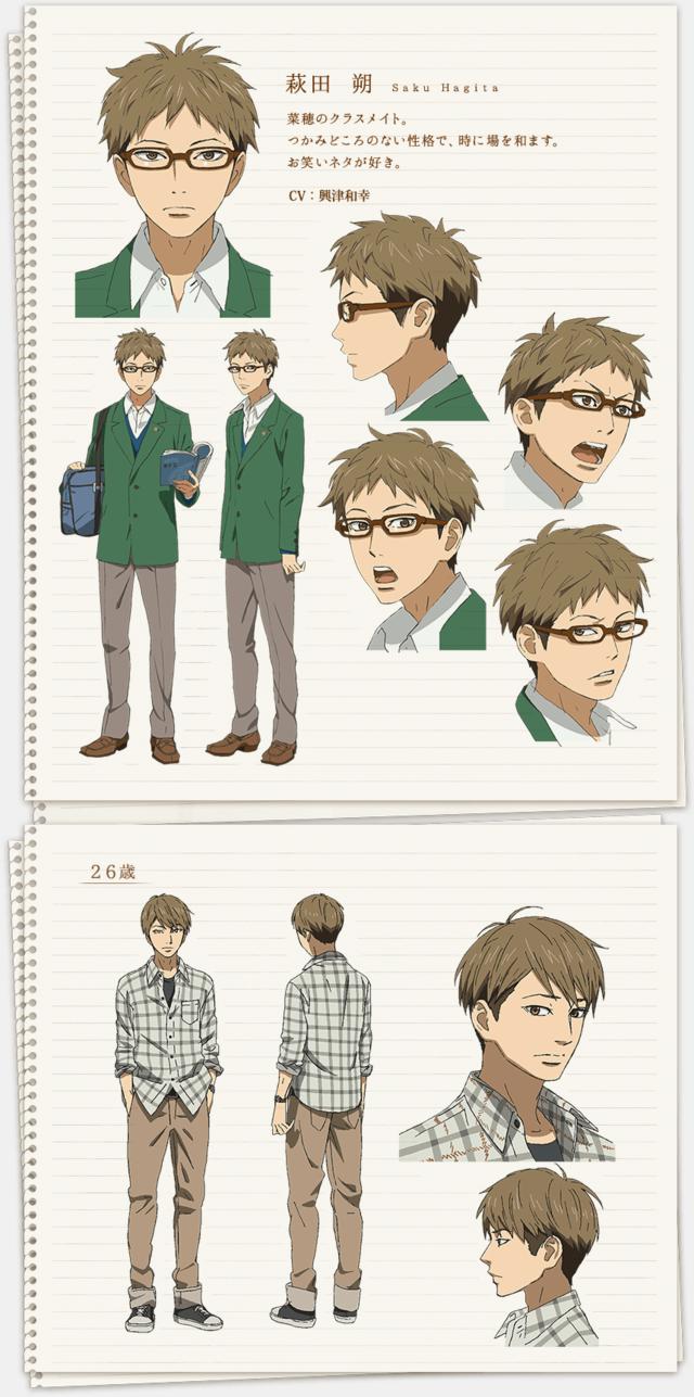 Crunchyroll orange animes adult character designs updated