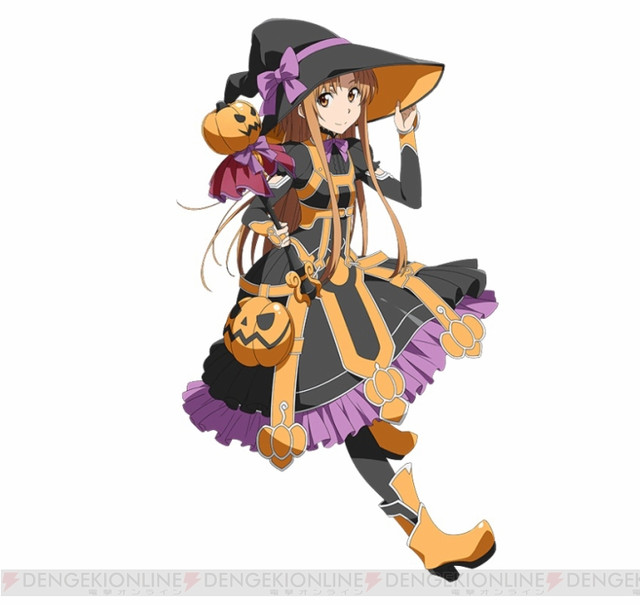 Anime Characters For Halloween : Crunchyroll quot sword art online code register begins