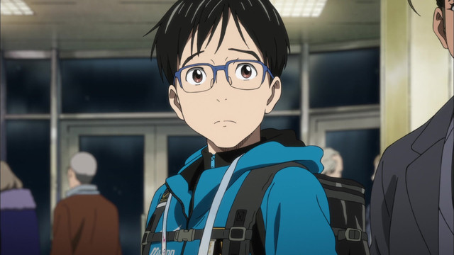 watch yuri    on ice episode 1 online
