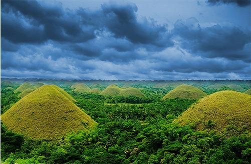 Crunchyroll forum interesting piles of dirt landforms this piles of dirt is a must see sight in bohol philippines the chocolate hills is an unusual geological formation it is composed of around 1268 sciox Image collections