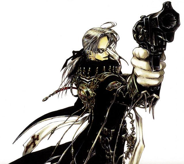 Anime Guy With Guns