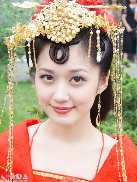 Chinese Actress Jang Nara As
