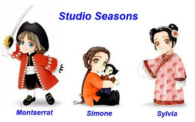 Studio Seasons chibis