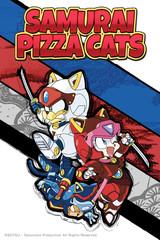 Samurai Pizza Cats