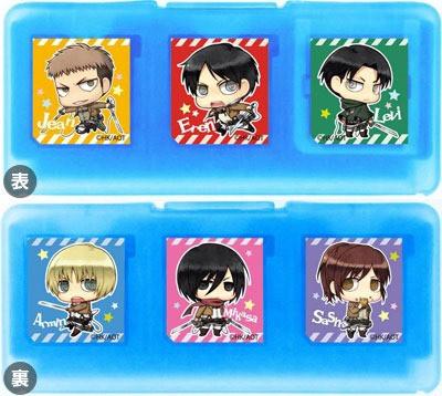 Attack On Titan cases for your 3DS 1d10414c5b9f13098126d9d028c052401399909793_full