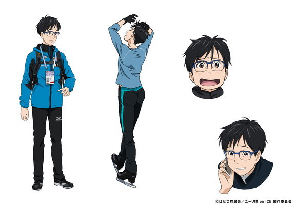 Anime Characters Named Yuri : Crunchyroll quot yuri on ice skates to win in october of