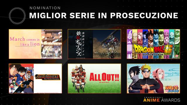 Miglior serie in prosecuzione