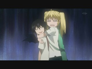 Nabari No Ou Miharu And Raimei Crunchyroll - Miharu x...