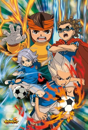 crunchyroll   inazuma eleven series dominates animage s