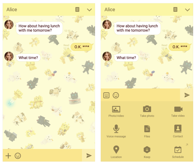 crunchyroll cute up your line app with new nyanbo theme
