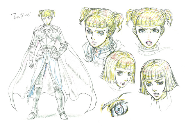 3d Character Design Books : Crunchyroll quot berserk anime s adaptation from d concept
